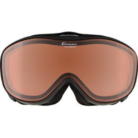 Alpina Challenge 2.0 Doubleflex S2 Goggles, black